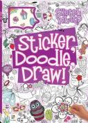 Sticker Doodle Draw! Purple (Series 2) UK Edition