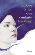 Lo Que Tengo Que Contarte [Spanish]