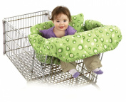 Babe Ease The Chic Super-Soft Clean Shopper Cart Cover, Sage