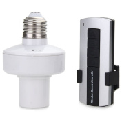 Mengshen® Wireless Remote Control E27 Screw Light Lamp Bulb Holder Cap Base Socket Controller Switch MS-RC01