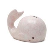 Child To Cherish Mini Whale Piggy Bank, Pink