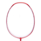 Senston S-300 Single Graphite Badminton Racket Full Carbon Badminton Racquet(White/Red/Black/Blue) With Racket Cover .