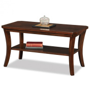 Leick Furniture Boa Collection Solid Wood Condo/Apartment Coffee Table