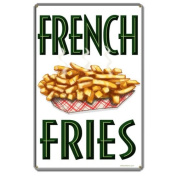 French Fries Sign 12 x 18