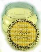 Tyler Glass Jar Candle - 650ml Long Burning Scented Candle - French Market Scent
