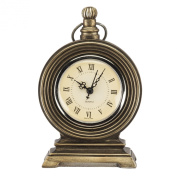 Prinz Antique Brass Resin Pocket Watch Clock