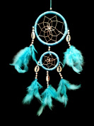 Dream Catcher with Feathers-lb2r- Wall or Car Hanging Ornament