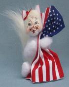 Annalee - 10cm Patriot Kitty