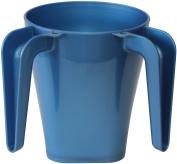 Majestic Giftware WCP-LB Plastic Wash Cup, 14cm , Light Blue