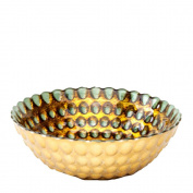 Shiraleah Antique Copper Pearl Bowl