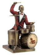 Drum Player Statue Sculpture Figurine - Jazz Band Collection
