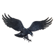 Whitehall Products Antique Brass Wall Eagle 00755, 90cm wide by 28cm high