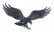 Whitehall Products Decorative Wall Eagle, 90cm , Black