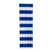 Little Bedding Stripe Window Panel, Blue