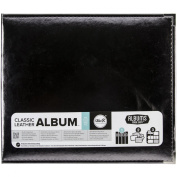 We R Memory Keepers Faux Leather 3-Ring Binder, 30cm by 30cm , Platinum