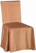 SALLY TEXTILES Jenny Chair Cover, Taupe