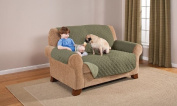 Deluxe Reversible LoveSeat Furniture Protector, Olive / Sage