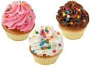 Fake Cupcakes 3 Pack Sprinkle Cupcake