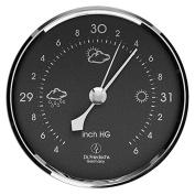 Precision Aneroid Barometer 8.3cm Diameter Round Dial with Chrome Bezel