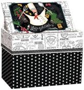 Lang Let's Get Cooking Recipe Card Box by Lori Lynn Simms