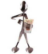 Forked Up Art Stainless Steel Toothpick Stand - Spoon