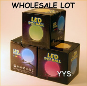 Wholesale Lot of Zeekio Lighted LED Poi - 20 POI-