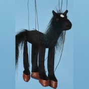 Sunny Toys 41cm Baby Black Horse Marionette