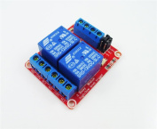 GEREE DC 12V 2-Channel Relay Module with Optocoupler H/L Level Triger for Arduino