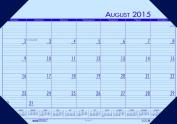 House of Doolittle2015 - 2016 Academic Year Desk Pad Calendar,EcoTones, Orchid, 33cm x 47cm