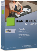 H & R Block At Home 2009 Basic Federal + eFile [Formerly TaxCut]