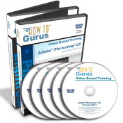 Adobe Photoshop CC & Adobe Photoshop Lightroom 5 Training on 5 DVDs, 40 Hours in 547 Video Lessons. Computer Software Video Tutorials