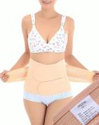 Nsstar Breathable Elastic Postpartum Postnatal Recoery Support Girdle Belt Post Pregnancy Belly Waist slimming shaper Wrapper Band Abdomen Abdominal Binder for Women and Maternity