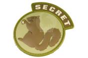 Milspec Monkey Secret Squirrel PVC Patch
