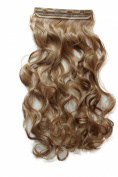 PRETTYSHOP 70cm 5 Clips one piece Full Head Clip In Hair Extensions Hairpiece Curled Wavy Heat-Resisting Different Colours