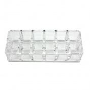 Acrylic Makeup Organiser 12 Grids Eyeliner Mascara Lipstick Small Size Lotion Storage Holder Display Stand