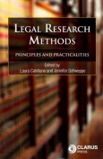 Legal Research Methods