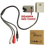 Netview CCTV Microphone adjustable Wide 30m Range Mic for cctv DVR NVR surveillance