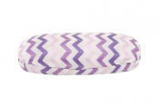 Chevron Glasses Case (Purple), Decorative Hard Protective Storage Case For Your Glasses, Suitable To Hold Regular Sized Glasses, Length: 16cm Width
