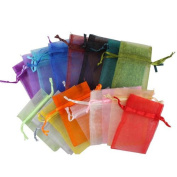 STOREINBOX 50PCS Organza Jewellery Wedding Gift Candy Pouch Bags 7x9cm