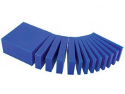 Wax Block Blue - Assorted Size Slices -