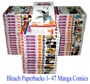 Bleach Comics Books Set - Manga Comics Books Collection in English - 1- 47 Books