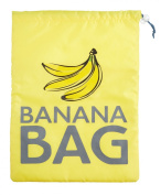 Kitchen Craft 38 x 28 cm Stay Fresh Polyester Banana Bag, Yellow
