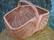 Shopping Basket in Willow Square shape