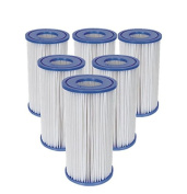 6 x Bestway Size III Filter Cartridge for Swimming Pools #58012