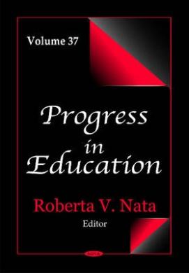 Progress in Education: Volume 37