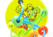 BuyHere Bead Masthead Maze Wooden Educational Toy,Tiger