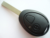 Bobbitech(TM) REPLACEMENT 2 BUTTON KEY FOB CASE SHELL FOR ROVER 75 REMOTE KEY