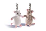 Rudolph Schaffer Mi Mouse White Keyring Soft Toy