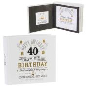 Signography 40th Birthday Photo Album 4x6