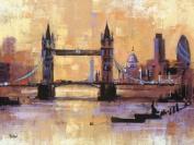 Colin Ruffell 60 x 80 cm Tower Bridge London Canvas